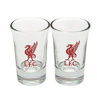 Liverpool FC Shot Glass Set (Pack Of 2)