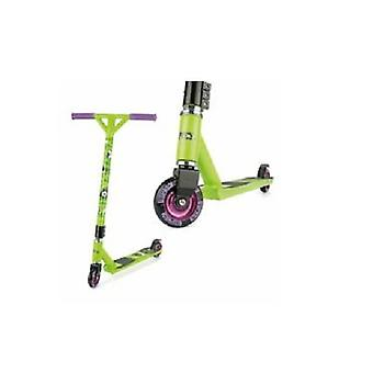 Ozbozz Torq Chaotic Stunt Scooter - Verde Metálico