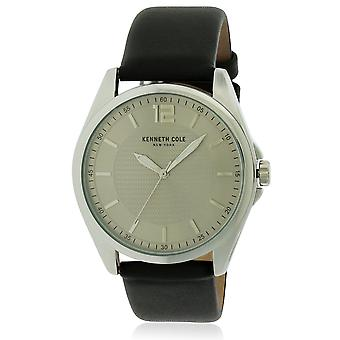 Kenneth Cole Leather Mens Watch 10031396