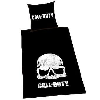 Call Of Duty Black Ops Skull Single Paplan cover set - Európai méret