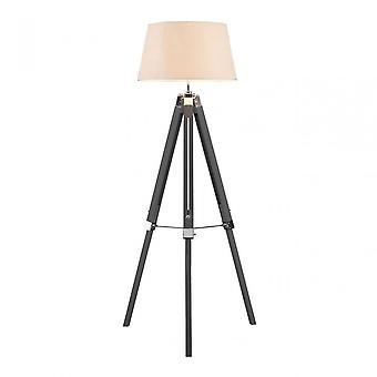 Premier Home Grey Bailey Tripod Floor Lamp, Grey