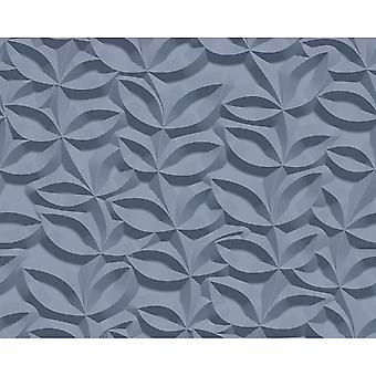 A.S. Creation AS Creation 3D Effect Leaf Pattern Wallpaper Stone Floral Leaf Modern Textured 329813