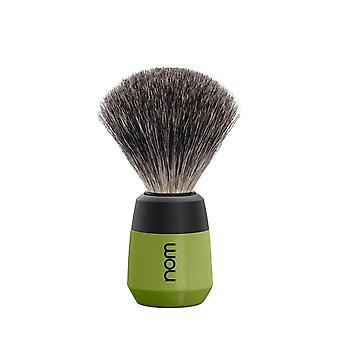 Nom Max Badger Shaving Brush - Olive