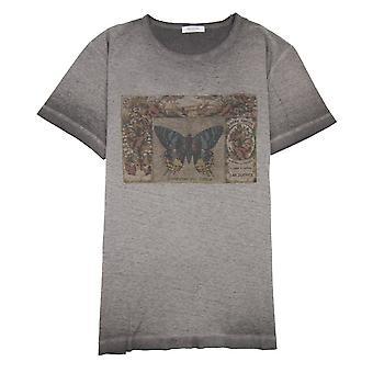 Valentino kubanische Boxen Druck T-shirt grau