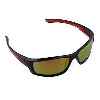 Men's sunglasses and Sunglasses Women's Polaroid Sport - Red/Yellow with free brillenkokerS368_3