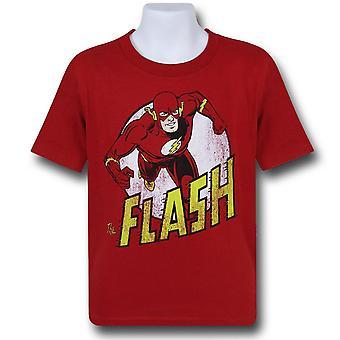 Flash Distressed Run camiseta para niños
