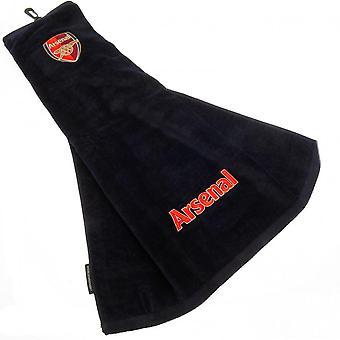 Arsenal FC Tri-Fold Golf Towel