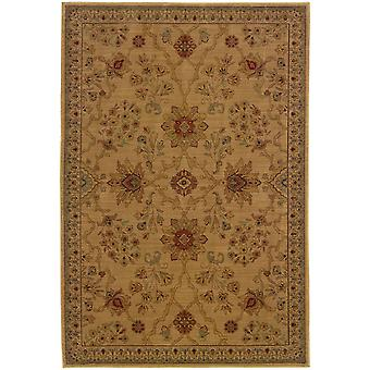 Allure 013c1 beige/red floral area rug (6'7