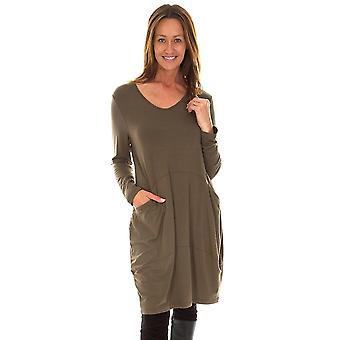 CAPRI Capri Olive Green Dress SLL 2014