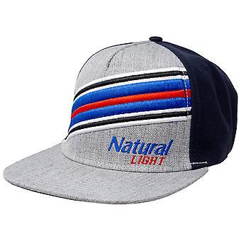 Φυσικό φως μπύρα ριγέ ρυθμιζόμενο καπέλο SnapBack