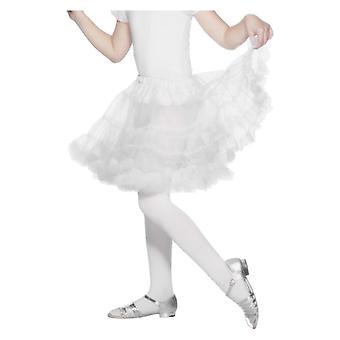 Filles blanches jupon déguisements accessoires
