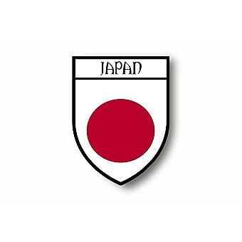 Autocollant Sticker Voiture Moto Blason Ville Drapeau Japon Japonais