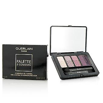 Guerlain 5 Couleurs Eyeshadow Palette - # 01 Rose Barbare - 6g/0.21oz