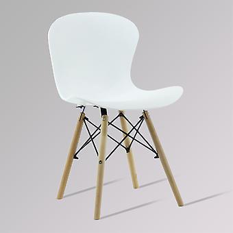 Alessia Cadeira Eiffel Canelada Ds White - Venda