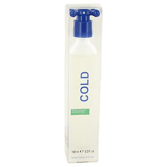 COLD by Benetton Eau De Wcte Spray 3.4 oz / 100 ml (Muži)