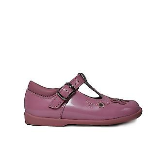 Startrite Sunflower Rose Pink Patent Leather Girls T-Bar Shoes