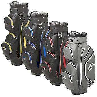 Powakaddy Mens PK Dri Edition Waterproof 14 Way Golf Cart Bag