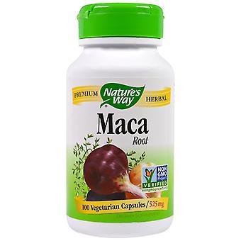 Maca Root  525 mg  100 Capsules - Nature's Way