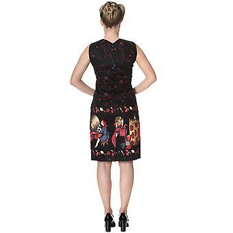 Banned Dancing Days Women's 1950's Vanity Pencil Dress