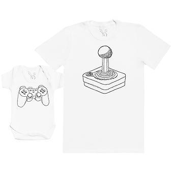 Retro & Modern Players - Mens T Shirt & Baby Bodysuit