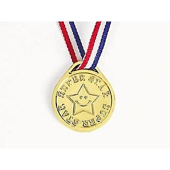 12 Super Star Award Medals Party Bag Fillers & Game Prizes 12 Super Star Award Medals Party Bag Fillers & Game Prizes 12 Super Star Award Medals Party Bag Fillers & Game Prizes 1