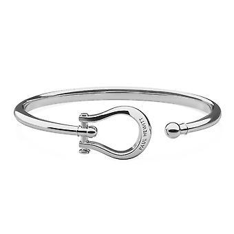 Paul Hewitt PH-BA-SHL-S Bracelet - Shackle Silver Steel Women