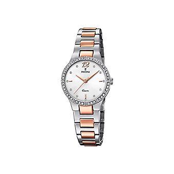 Festina montre analogique quartz femme avec l'acier inoxydable bracelet F20241-2