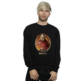 Star Wars Men's The Mandalorian The Armorer Framed Sweatshirt