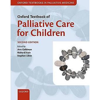 Oxfordin oppikirja lasten palliatiivisesta hoidosta Goldman & Ann -konsultilta lasten palliatiivisessa hoidossa & Great Ormond Street Hospital & London & UKHain & Richard Lead Clinician & Welsh Paediatric Palliatiivisen lääketieteen hallittu kliininen verkosto vierailu