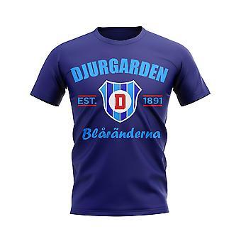 Djurgarden Gevestigd voetbal T-shirt (Marine)