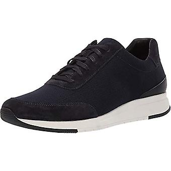 Vince Womens Payton-2 Leather Low Top Lace Up Fashion Sneakers
