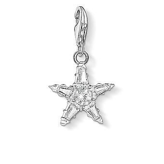 Thomas Sabo White Zirconia Star Charm 1804