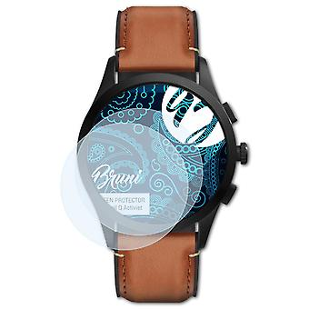 Bruni 2x Screen Protector compatible with Fossil Q Activist Protective Film