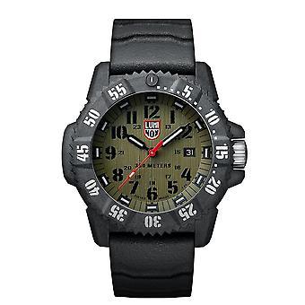 Luminox Master Carbon SEAL Quartz Green Dial Men's Watch XS.3813