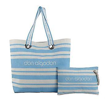 Don AlgodonBeach EditionWomenBeachBagBlue (Azul)17x49x38 Centimeters (W x H x L)
