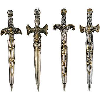 Streamline NYC Mightier Sword Pens (Set Of 4)