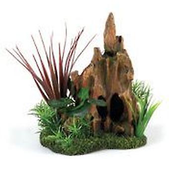 Classic For Pets Stump Pinnacle Garden (Fish , Decoration , Ornaments)
