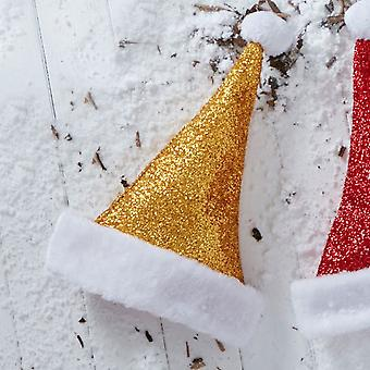 Christmas Shop Metallic Santa Hat