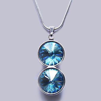 Pendant necklace with Swarovski crystals PMB 3.2
