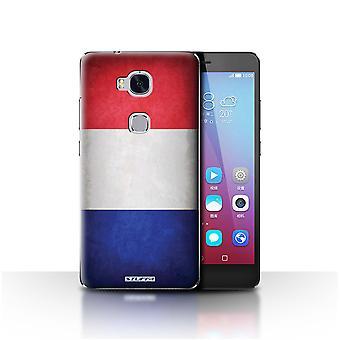 STUFF4 Gehäuse/Abdeckung für Huawei Honor 5 X/GR5/Frankreich/Französisch/Flags
