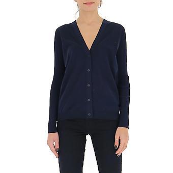 Gentry Portofino D738alg0006 Women's Blue Cotton Cardigan