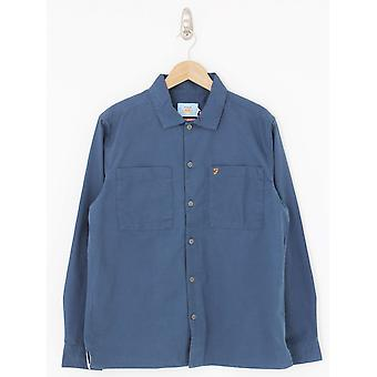 Farah Dallam Twill Shirt - Yale