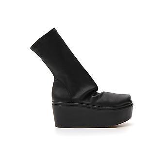Rick Owens Rp19f5826lns099 Women's Black Leather Boots