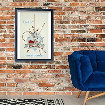 Air France France Poster Print Giclee