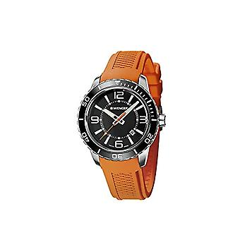 WENGER Quartz Analog Unisex Adult Silicone wrist watch 01.0851.114 Roadster