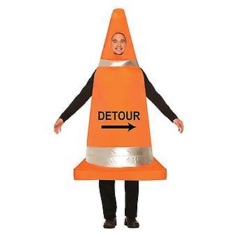 Verkeer Cone kostuum