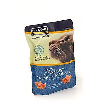 Fish4Cat Finest Salmon Mousse for Cats (Cats , Cat Food , Wet Food)