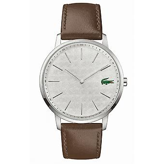 Lacoste 2011002 Men's Moon Brown Leather Wristwatch