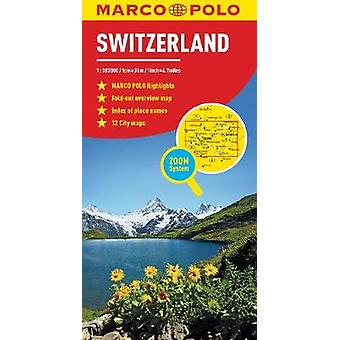 Switzerland Marco Polo Map by Marco Polo - 9783829755870 Book