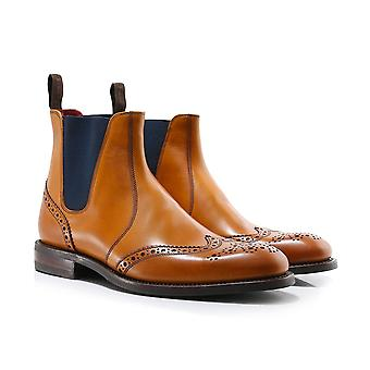 Loake Leather Hoskins Chelsea Boots